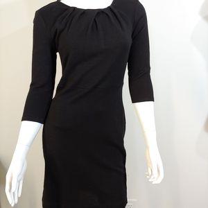 NWOT ANN TAYLOR BLACK DRESS WOMEN'S US SIZE 8